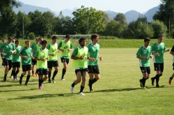 SV UEDESHEIM. Tests & Trainings. Salzburg.