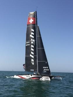 Alinghi extreme sailing - Mascat/Oman