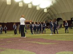 Training von jungen Fussballern - Ottawa/Kanada