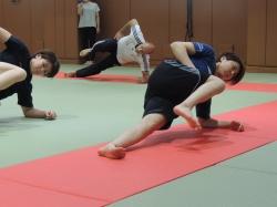 Training des japanischen JUDO Teams (Damen) - Tokyo/Japan